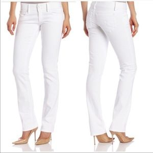 Lilly Pulitzer Worth Straight Jean White Size 4